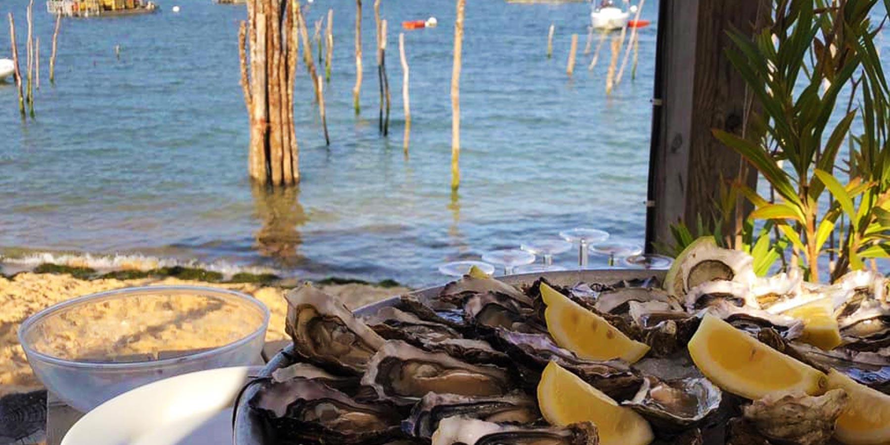 Commande huître Cap Ferret